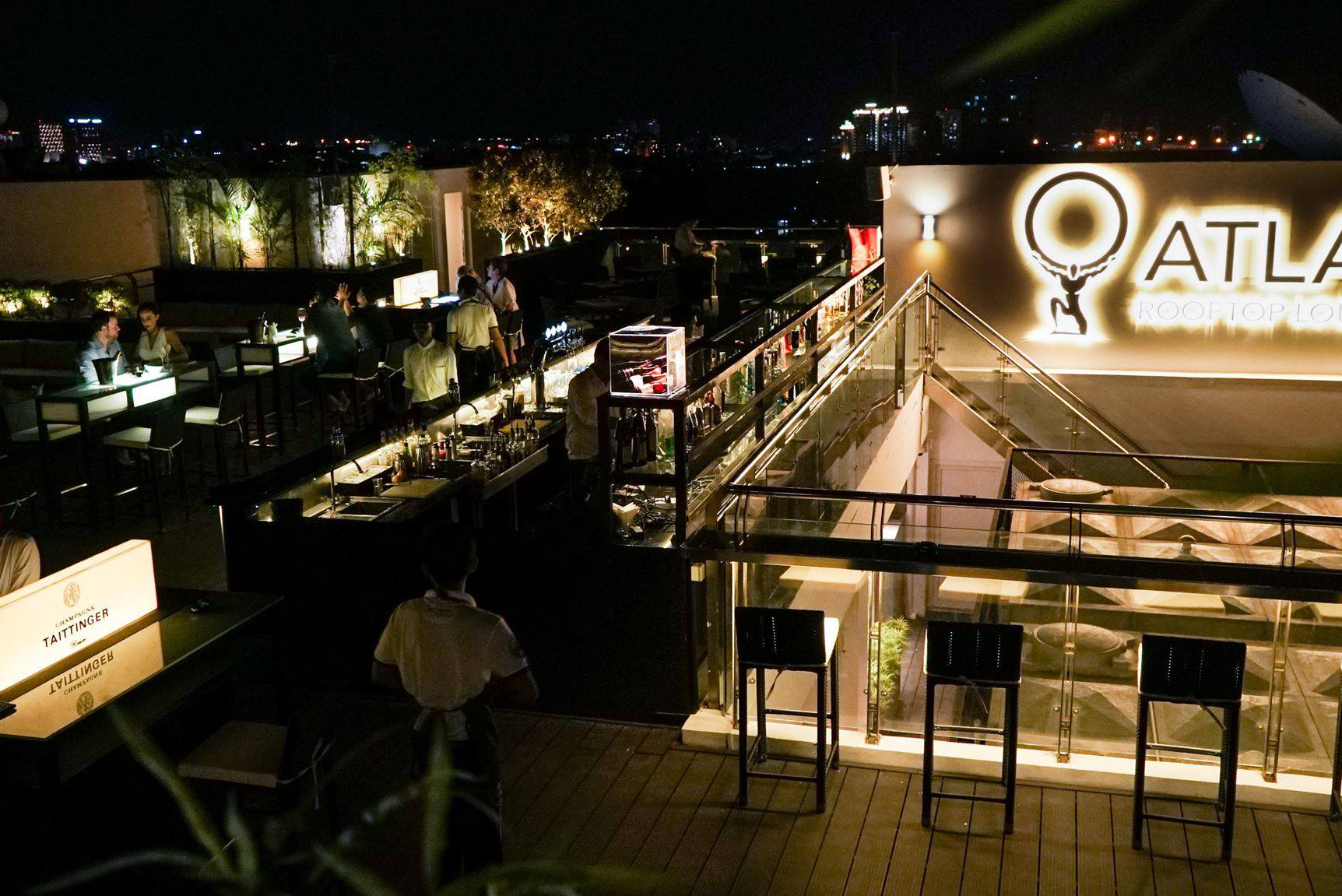 Atlas Rooftop Bar and Lounge
